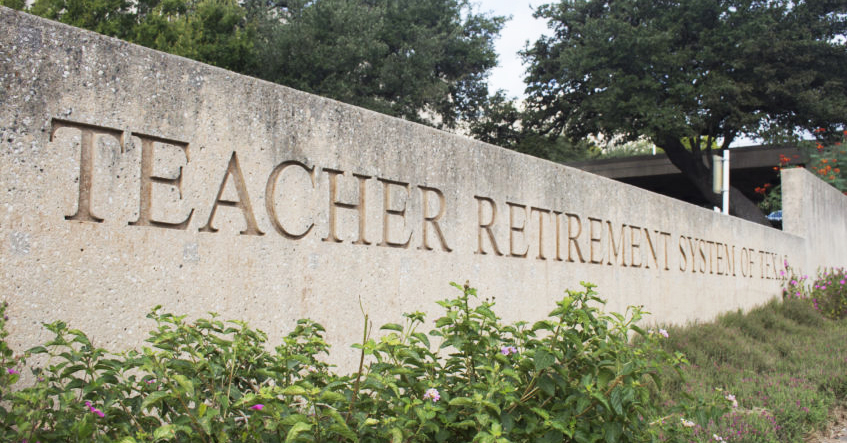 Texas teacher pension