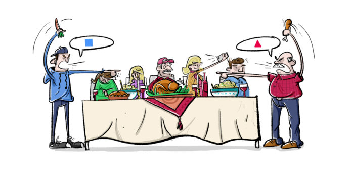 Thanksgiving politics