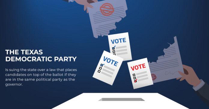 ballot position Texas