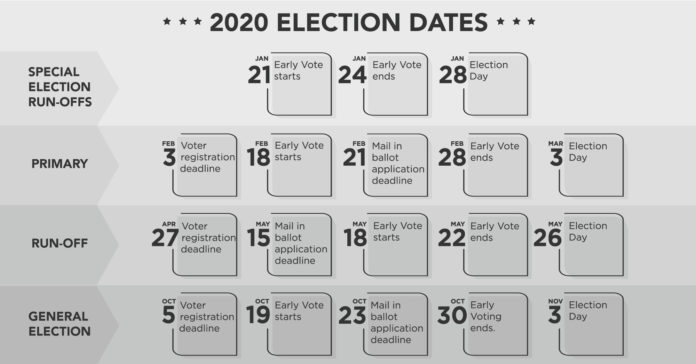 Important 2020 Texas House Election Dates   Reform Austin