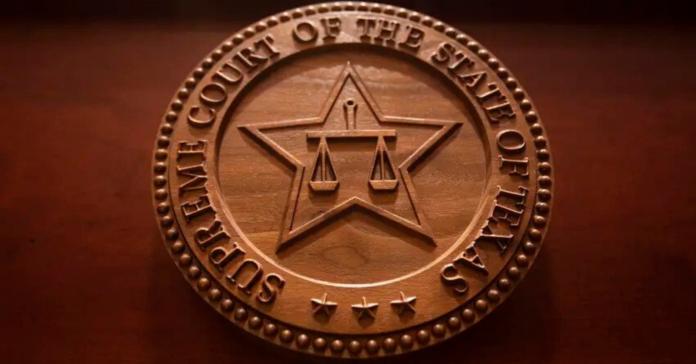 Texas Supreme Court on Jan. 15, 2020. Photo credit: Miguel Gutierrez Jr./The Texas Tribune