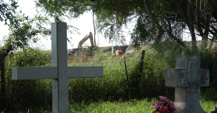 Follow up on historic cemetery