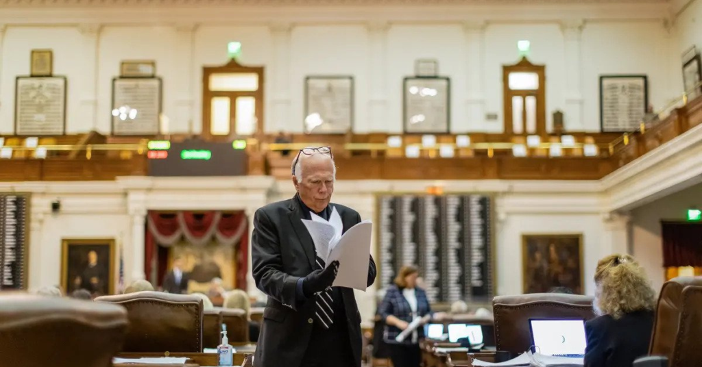 Todd Hunter Texas House Redistricting Chair